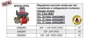 Scheda Regolatore BP2204-OPSO