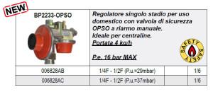 Scheda Regolatore BP2233-OPSO