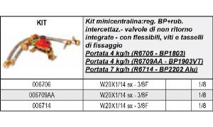 scheda kit centraline